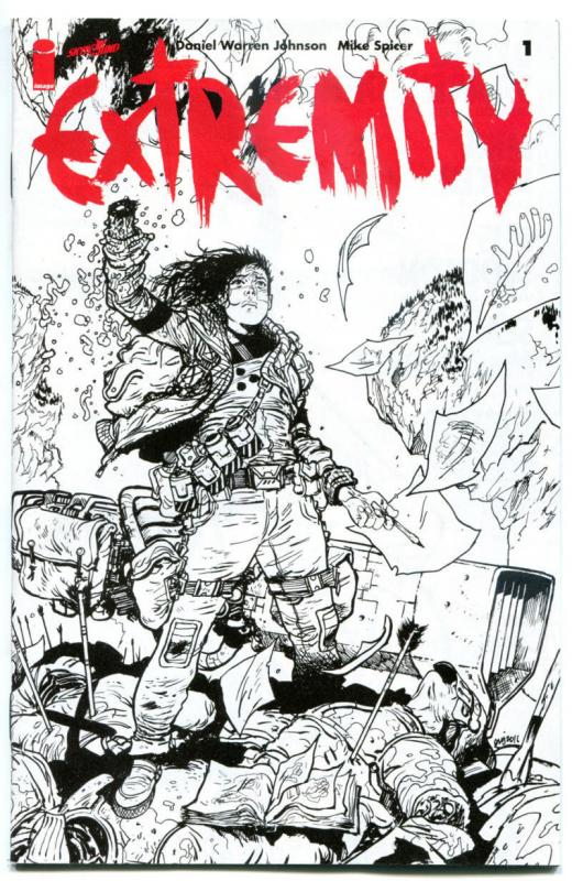 EXTREMITY #1, VF, Ashcan, Daniel Johnson, Mike Spicer, Image, 2017