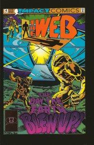 Impact Comics The Web #4 December (1991)