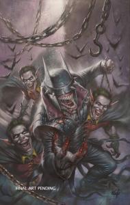 BATMAN WHO LAUGHS #1 PARRILLO VIRGIN VARIANT DC COMICS