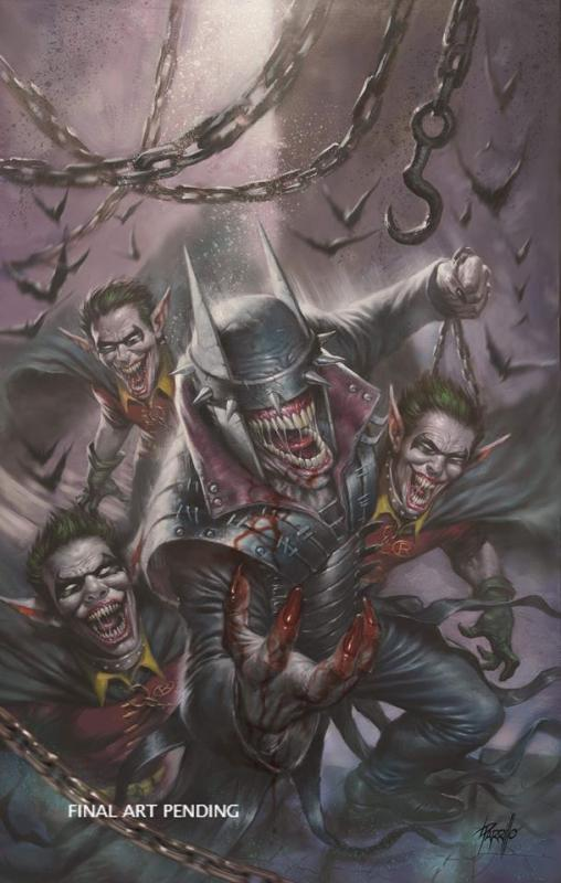 BATMAN WHO LAUGHS #1 PARRILLO VIRGIN VARIANT DC COMICS