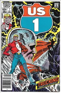 U.S. 1  Vol. 1, #1 May, 1983 - Bronze Age -  (VF+)