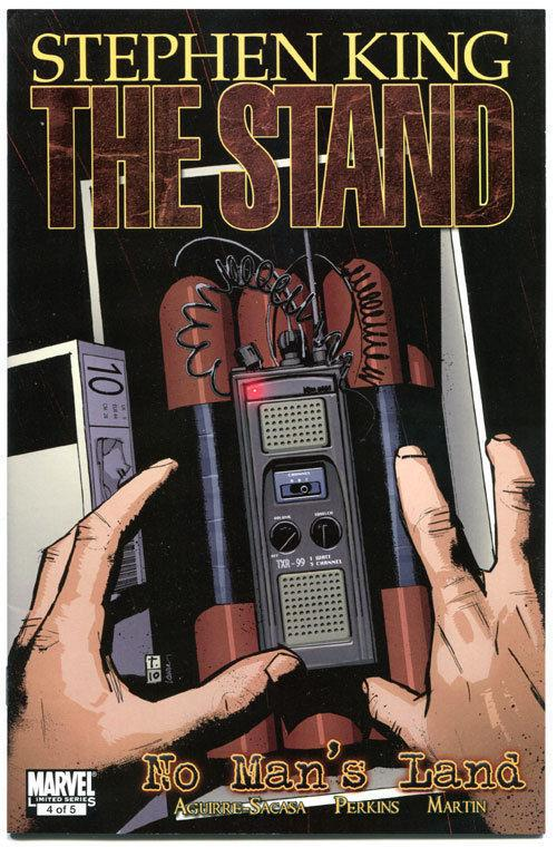 STEPHEN KING : STAND - NO MAN'S LAND #4, 2011, VF+, Virus, more in store