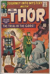 Journey into Mystery #116 (May-65) VF+ High-Grade Thor