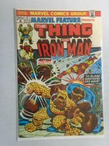 Marvel Feature #12 Thing and Iron Man 6.0 FN (1973 1st Series)