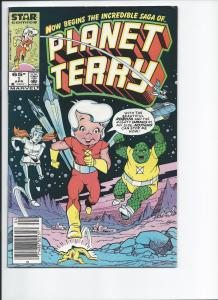 Planet Terry Number 1 April, 1985 (VF+)