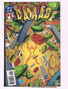 Damage #1 VF DC Comics Comic Book Joyner 1994 DE16