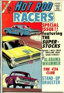 Hot Rod Racers #3 1965-Charlton-'64 Ford Galaxy 520 fastback-Plymouth-Pontiac-NM