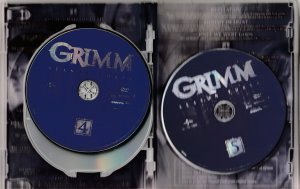 Grimm Season 3 DVD Series by Buffy and Angel Co-producer