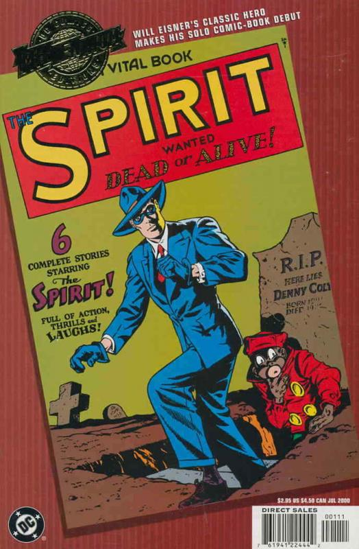 Millennium Edition: The Spirit #1 VF/NM; DC | save on shipping - details inside