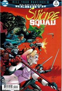 Suicide Squad #21 (2016 v4) Harley Quinn NM