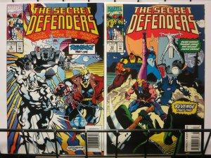 SECRET DEFENDERS (1993) 9-10 REVENGE complete story