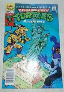 Teenage Mutant Ninja Turtles Adventures # 20 May 1991 Archie Comics