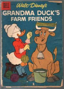 Grandma Duck's Farm Friends-Four Color Comics #873-Dell-1958-Disney-G