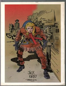 Jack Kirby Quarterly #11 1998-Kirby at DC & Marvel-unpublished art-VF