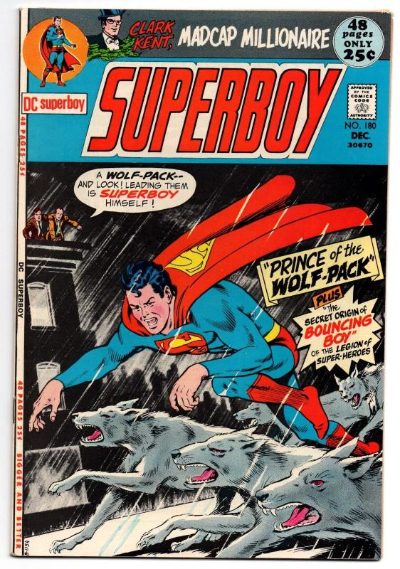 Superboy #180 (Dec 1971, DC) - Very Fine+