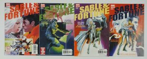 Silver Sable & Dominic Fortune #1-4 VF complete series marvel comics 2006
