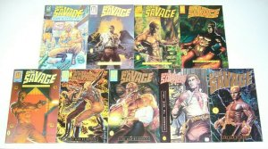 Doc Savage: Man of Bronze #1-4 FN/VF complete series + manual + thoughts + repel