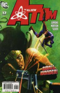 ATOM (ALL-NEW) (2006) 17-18  Wonder Woman team-up story