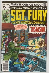 Sgt. Fury and His Howling Commandos #146 (May-78) VF+ High-Grade Sgt. Fury, H...