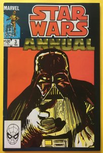 STAR WARS ANNUAL 3 DARTH VADER COVER MARVEL 1983