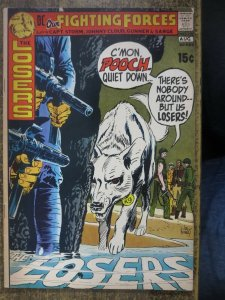OUR FIGHTING FORCES 132 VG- Aug. 1971 LAST 15 CENT COMICS BOOK