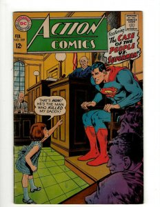 Action Comics # 359 FN DC Comic Book Superman Batman Green Lantern Flash KD1