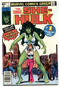 Savage She-Hulk #1 - 1st appearance 1980 Marvel comic VF
