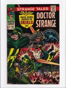Strange Tales #155 Nick Fury, Dr. Strange Silver Age Marvel Comics 1967 FN- 5.5