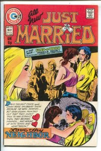 Just Married #100 1974-Charlton-puzzle page-historic 100th issue-Broken Heart...