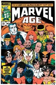 Marvel Age #32 X-Men | Alpha Flight (Marvel, 1985) NM