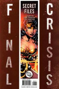 Final Crisis: Secret Files #1A VF/NM; DC | save on shipping - details inside