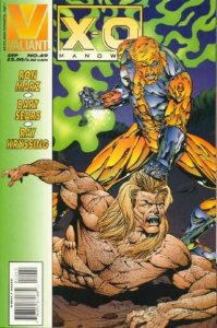 X-O Manowar (1992 series) #49, NM- (Stock photo)