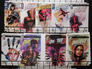Daredevil (Marvel Knights 2001) Lot #14-18, 51-53, 55 David Mack w/o Fear!