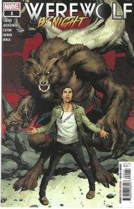 Werewolf By Night #1 (Dec 2020) - written by Taboo& Jackendoff, artwork: Eaton
