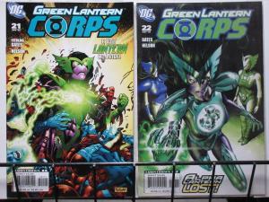 GREEN LANTERN CORPS (DC,20) #21-22 VF-NM Curse of the Alpha-Lantern  2pt Story