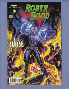 Robyn Hood The Curse #2 NM Variant Cover D Zenescope 2018