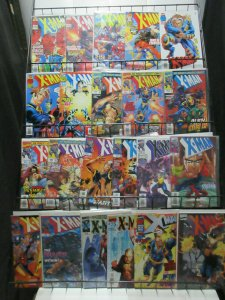 X-Man (Marvel 1995-2001) #1-75 Lot of 43Diff Nate Grey Mutant Adventures!