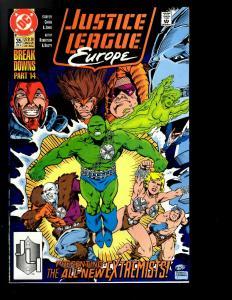 12 Justice League Europe DC Comics # 25 26 28 29 30 31 32 33 34 35 36 37 JF26