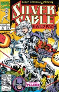 Silver Sable and the Wild Pack #6, NM (Stock photo)