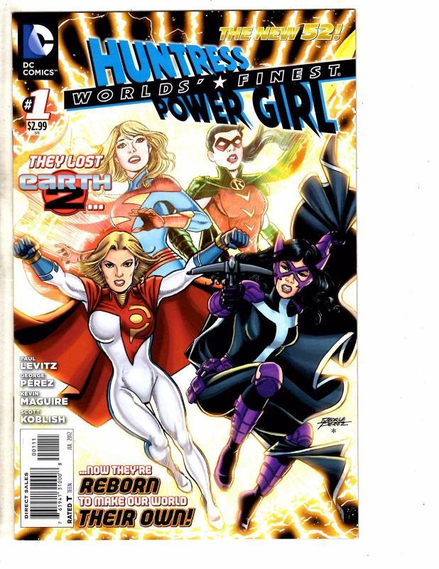 5 dc comics huntress power girl 1 2 stormwatch 2 4 titans