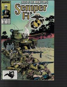 Semper Fi' #6 (Marvel, 1988)
