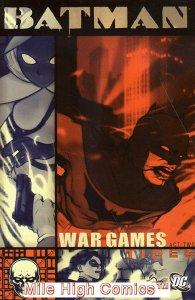 BATMAN: WAR GAMES TPB (2005 Series) #2 2ND PRINT Fine