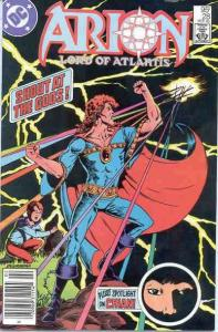 Arion: Lord of Atlantis #28, VF+ (Stock photo)