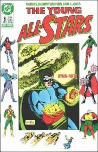 DC THE YOUNG ALL-STARS #6 FN-
