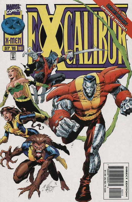 Excalibur #101 VF/NM; Marvel | save on shipping - details inside