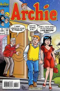 Archie #539 VF/NM; Archie | save on shipping - details inside
