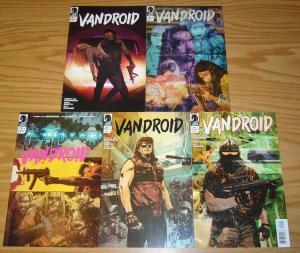 Vandroid #1-5 VF/NM complete series - dark horse - tommy lee edwards set 2 3 4