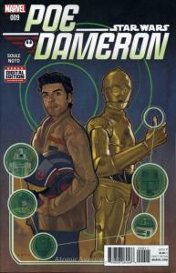 Poe Dameron #9 VF; Marvel   save on shipping - details inside