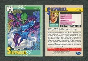 1991 Marvel Comics II  Card  #146 ( Sleep Walker )  MINT
