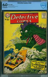 Detective #252 (DC, 1958) CBCS 6.0